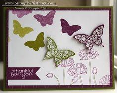 Bokeh Effect Butterfly Card