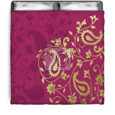 Traditional Floral Paisley Comforter at http://www.visionbedding.com/traditional-paisley-floral-pattern-textile-swatch-royal-india-queen-full-comforter-p-3096185.html
