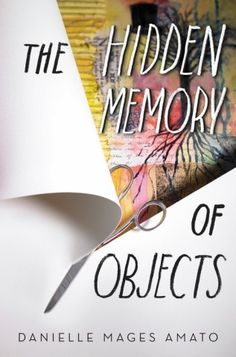 #CoverReveal   The Hidden Memory of Objects by Danielle Mages Amato