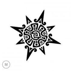 halbmond mit maori motiven tattoo design diy 39 s. Black Bedroom Furniture Sets. Home Design Ideas