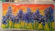 Flowers in frit