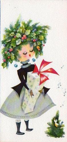 Christmas Card, Holly G...