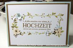Hochzeitskarte mit der Project Life Kollektion Hallo Sonnenschein - Hello Lovely - und dem Stempelset Doppelt gemoppelt - Better together - Stampin Up!