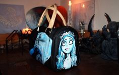 Burtonian Heidibag - Halloween edition