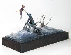 Ghost diorama 1/35 from JBA