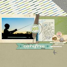 Layout by Melanie Ritchie using inspiration from the Simple Scrapper membership