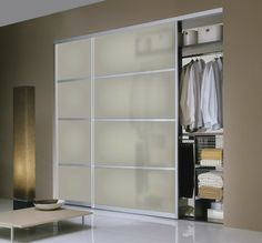 one day i am going to change my master bedroom closets to these doors! -- modern closet door Milano-SL20