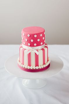 Pink Mini Tier Cake