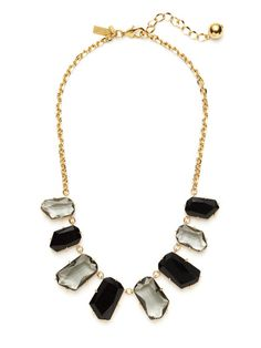 Black Multi Statement Necklace by kate spade new york on Gilt.com
