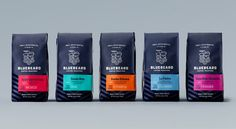 Blue Beard Coffee Roasters : Designed by Partly Sunny, United States