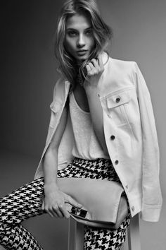 Anna Selezneva Stars in Adolfo Dominguez Spring 2013 Campaign | Fashion Gone Rogue: The Latest in Editorials and Campaigns