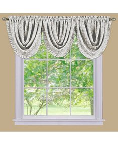 Achim Sutton Waterfall Valance Home - All Window Treatments & Blinds - Macy's