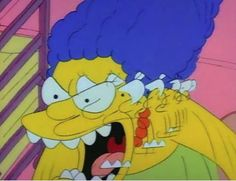 """animationsmears: """" The Simpsons - """"Some Enchanted Evening"""" """" Simpsons Meme, The Simpsons, Reaction Pictures, Funny Pictures, Crying Meme, Some Enchanted Evening, Cartoon Profile Pics, Character Design Animation, Cartoon Icons"""