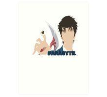 Shinichi Izumi Parasyte 寄生獣 kiseijuu sei no kakuritsu Art Print