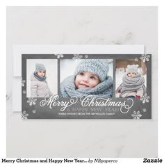 Shop Merry Christmas and Happy New Year Snowflakes Holiday Card created by NBpaperco. Personalize it with photos & text or purchase as is! Christmas Photo Cards, Christmas Greeting Cards, Christmas Photos, Christmas Greetings, Family Christmas, Holiday Cards, Modern Christmas, Christmas Sale, Christmas Holidays
