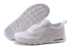 Nike Air Max Thea Mens Womens All White PREMIUM Outlet - $56.13 | i like running | Scoop.it