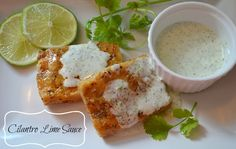Cilantro Lime Sauce Recipe
