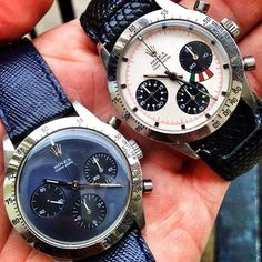Rare Rolex Prototypes... the Cosmograph and Cosmograph Yacht Master (both similar to the Cosmograph Daytona).
