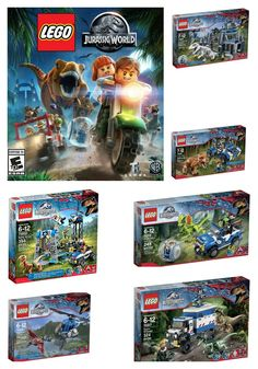 The Dinos are back!! Jurassic World Lego Video Game and Playsets, but don't wait, they're selling out FAST!