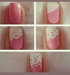 diy nail art see more about lace nail art nail arts and diy clothes, categories nails tags nail art tutorial nails, diy nail art see more ab. Cute Nail Art, Easy Nail Art, Nail Art Diy, Nail Art Designs, Simple Nail Designs, Nails Decoradas, Lace Nails, Wedding Nails Design, Hot Nails