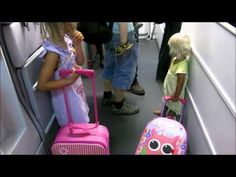 Family travel: Cute video of 18mth old boarding a plane    Do you think travel is good for kids?