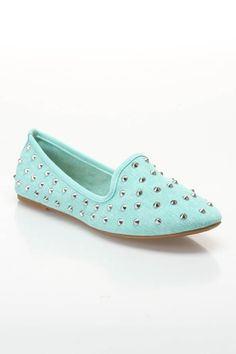 Kiwi Loafer Slip-Ons in Mint - Beyond the Rack