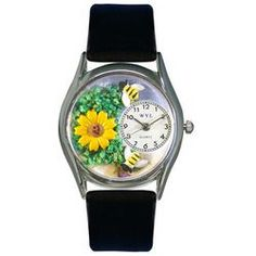 Sunflower Watch Small Silver Style
