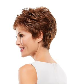 """Smart and stylish, this sophisticated pixie is a no-fuss favorite. Its lightweight open cap design is cool, comfortable and superbly easy to style. SPECIFICATIONS: Collection: O'solite 