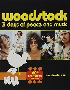 $5.00 - Woodstock 40th Anniversary Limited Edition Revisited BD Blu-ray
