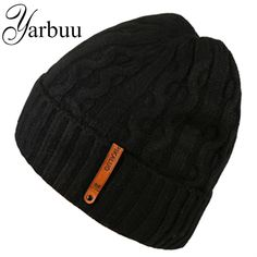 12.00$  Buy now - http://alihdf.shopchina.info/1/go.php?t=32776414226 - [YARBUU] Knitted hat quality head caps new fashion winter hat for men soft and elastic hats skiing keep warm protecting hats   #buyininternet