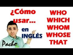 Relative Clauses - Clausulas Relativas - Uso de Who, Which, Whom, Whose,. Learning English, English Class, English Grammar, Relative Clauses, Angles, Language, Youtube, Cards, Dog