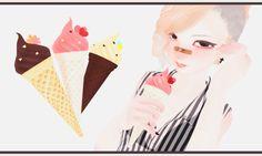 Ice Cream [Download Link] by tweekcrystal on DeviantArt