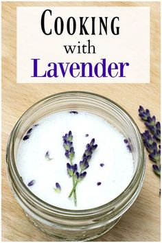 Cooking with lavender is a wonderful way to add a bit of fragrance to your food and drink. See some basic recipes that will bring out the beautiful fragrance of your own home grown lavender.
