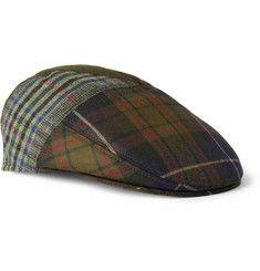 EtroPatchwork Wool-Blend Flat Cap