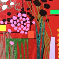 Healing Garden By Bruce McLean: Category: Art Currency: GBP Price: Retail Price: This is a stunning 22 colour silkscreen… Art Prints, Abstract Artists, Flower Art, Painting, Online Art, Rise Art, Glasgow School Of Art, Art, Abstract