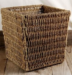 Rope Basket 9.5in- basket web site