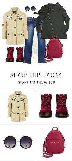 """Spring"" by etonenormalno on Polyvore featuring мода, Love Moschino, Dr. Martens, Alice + Olivia и Tommy Hilfiger"