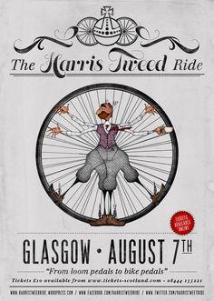 The Harris Tweed Ride