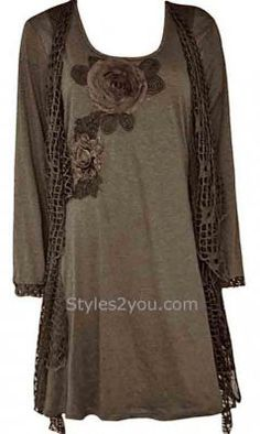 3864497948c Pretty Angel Clothing Ladies Dressy Knit Top In Coffee  Love this line!  Pretty Angel