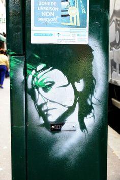 Unknown - Street art - paris 20 - rue de belleville aout 2013