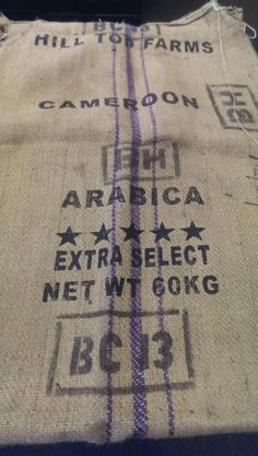 Coffea Arabica, from the southwestern highlands of Ethiopia.