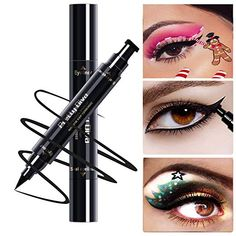 Eyeliner Long-lasting Non-staining Waterproof And Sweat-proof Seal Eyeliner 3 Sets Of Non-marking Big Eyes Fixed Makeup Beginner Eyeliner Sturdy Construction Beauty Essentials