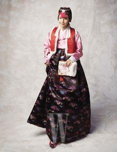 한복 Hanbok : Korean traditional clothes[dress]  | 아름다운 신부, 김희선 - W Korea