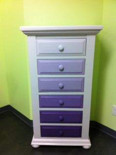 I could reprint Sawyer's little cabinet like this! (Just not purple)