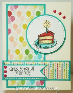 Heart's Delight Cards: Spotlight on Designer Series Paper
