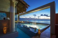 Spa Pool  - Hard Rock Hotel Cancun  #HardRockHotelCancun