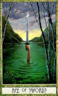 druidcraft tarot ace of swords - Pesquisa Google