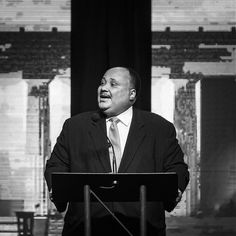 Martin Luther King III speaking in #lethbridge #yql today @enmaxcentre