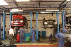 Image result for modern auto repair shop