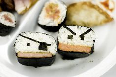 <b>There is a wide and tasty world of sushi designs out there, so here's a small list.</b> A lot of these are animals. One of them is our president.